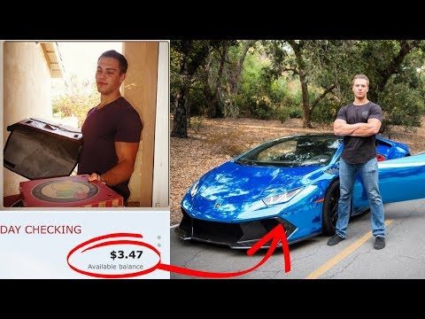 TANNER J. FOX STORY: Delivering Pizzas To Millionaire At 21