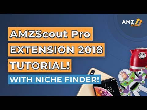 Amzscout Pro Extension 2018 Tutorial! How to Find New Niche in the Extension