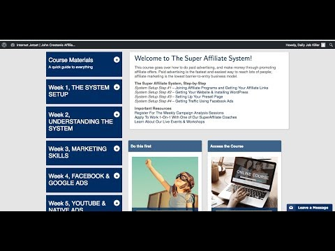 "How To ""REAL"" Make Money Online by 100% Real Super Affiliate System 2.0 User"