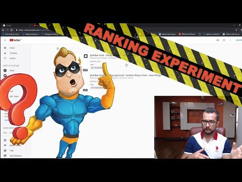YouTube Video Seo – youtube titles SEO – Ranking Experiment