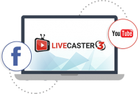 Live Caster 3 – Easy Live Stream on Facebook and Youtube