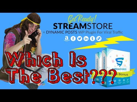 StreamStores VS SuperStores – Awesome Software Create Ecom Stores Easy and Fast