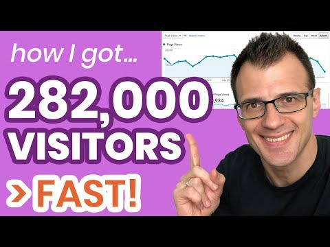 How to Get Traffic To Your Website (Fast!) 2019