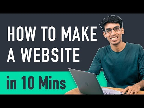 How to Make a Website in 10 mins – Simple & Easy