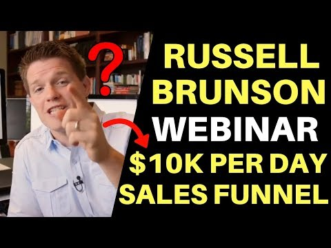ClickFunnels – How To Make $10K Per Day Sales Funnel